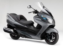 Promoción para la Suzuki Burgman 400