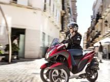 La Yamaha Tricity, la nueva sensación sobre tres ruedas
