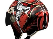 NZI presenta sus cascos Flash Gordon