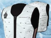 Macna presenta su chaleco refrigerante, Dry Cooling