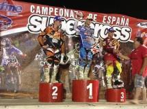 Soles, Butrón y Macanás han sido los ganadores del nacional SX en Almería