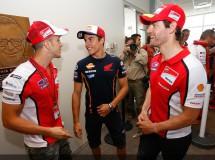 Rueda de prensa de MotoGP en Indianápolis