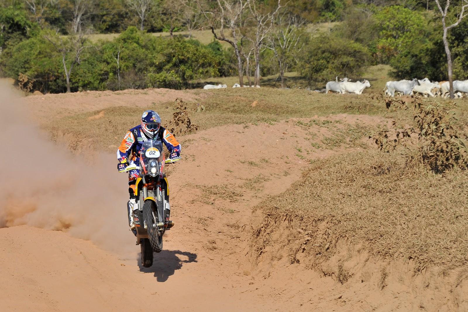 Marc Coma gana la quinta etapa del Rally dos Sertões 2014