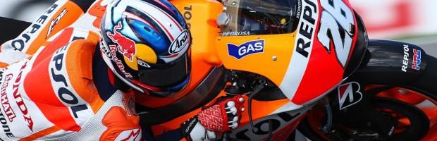 Dani Pedrosa triunfa en la carrera de MotoGP Brno, Lorenzo 2º y Rossi 3º