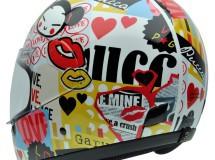 Los cascos NZI con diseños de Pucca