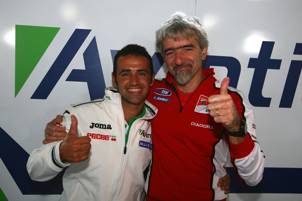 Héctor Barberá probará la Ducati GP14 en Mugello