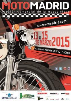 Cartel MotoMadrid 2015
