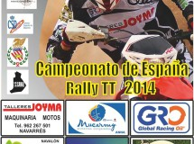 Enguera acoge la segunda prueba del nacional de Rally TT
