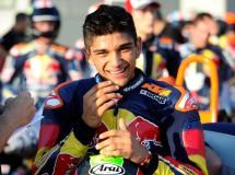 Mir gana la carrera 1 de la Rookies Cup en Motorland, Martín Campeón 2014