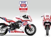 La Pata European Junior Cup 2015 se disputará con la Honda CBR650F
