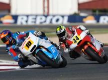 Jesko Raffin gana la segunda carrera Moto2 CEV en Navarra, Alt 2º