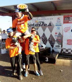 Francesc Cucharrera, campeón de España de Supermotard 2014 (1)