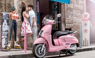 Peugeot Django, el nuevo scooter de estilo neo retro