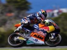 Jack Miller gana en casa la carrera de Moto3 Australia, Márquez 2º y Rins 3º