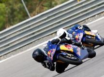 Selección de la Red Bull MotoGP Rookies Cup 2015 en Guadix