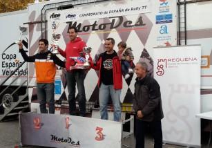 Marc Solá gana la cuarta cita del Nacional de Rally TT en Requena