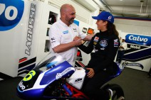 María Herrera con las pilas cargadas para el Mundial Moto3