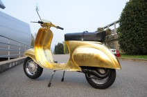 La Vespa Polini Gold 23 Quilates maravilla en el EICMA