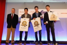 Gala RFME de entrega de premios 2014 a los Campeones