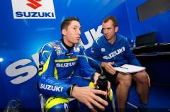 Aleix Espargaró se lesiona practicando flat track, pero no es grave