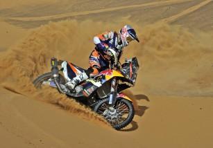 Marc Coma y su KTM 450 Rally listos para la edición 2015 del Dakar