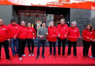 Marc Márquez será nombrado hijo predilecto de Cervera y su club de fans estrena sede