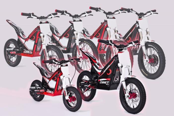 oset bikes trial electricas