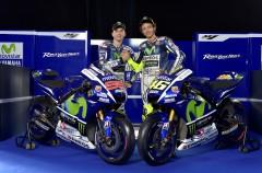 El Movistar Yamaha MotoGP con Lorenzo y Rossi se presenta en Madrid con éxito