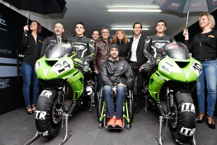 El Cat Bike Exit Team se ha presentado con Iturrioz, Calero y Ramírez