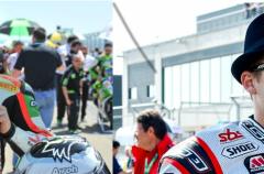 Marino y Coghlan con el equipo MRS Yamaha en STK 1000 para 2015