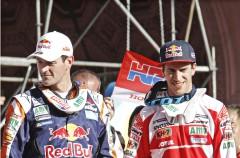 Joan Barreda domina la etapa 10 del Dakar 2015, Coma 2º y más líder