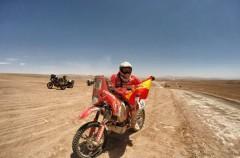 Especial Dakar 2015: Miguel Puertas, caída y lesión, pero con ganas de volver