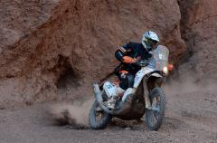 Toby Price domina la 12ª etapa del Dakar 2015, Coma más líder