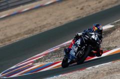 Varios equipos Moto3 de test pretemporada 2015 en Almería