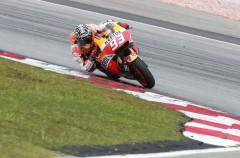 Marc Márquez cierra la tercera jornada del test MotoGP en Sepang como el mejor