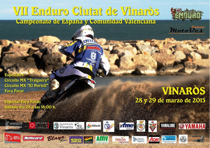 Cartel Enduro Vinaròs 2015