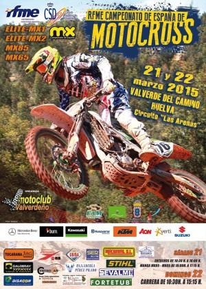 Cartel RFME MXValverde 2015