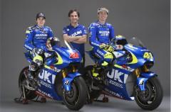 Presentación del equipo Suzuki Ecstar MotoGP con Aleix Espargaró y Maverick Viñales