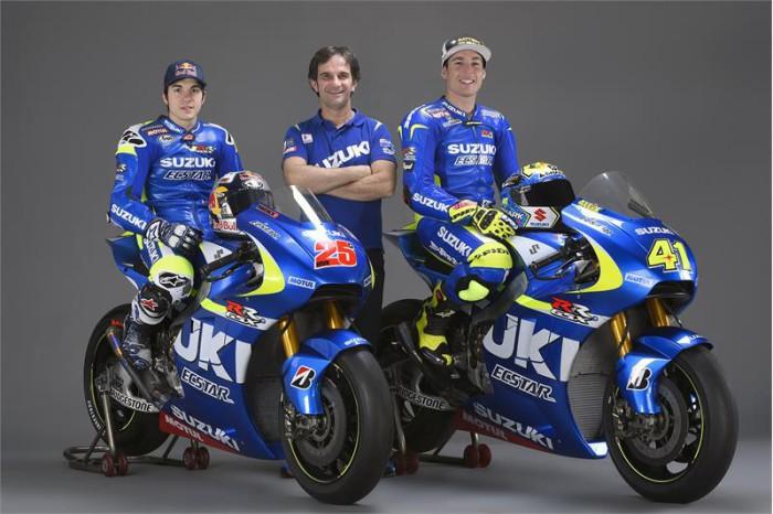 Viñales y Aleix MotoGP Suzuki