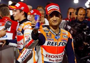 Pedrosa afectado por su lesión de antebrazo es baja en MotoGP, pero con el objetivo de volver