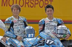 Noriyuki Haga con el equipo Kagayama en el Asia Road Race 2015