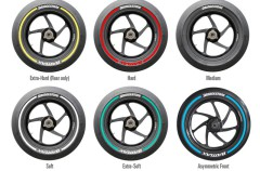 Bridgestone presenta los colores para cada neumático