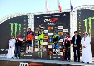 Julián Simón consigue podio con el QMMF Racing en la cita MX Losail