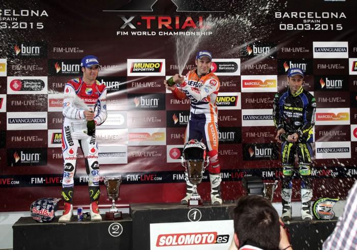 podio trial barcelona