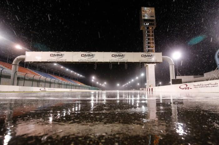 La lluvia nos deja sin día 3 de acción en el test MotoGP en Qatar 2015