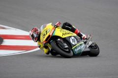 Edgar Pons domina la carrera 1 del Europeo Moto2 en Portimao