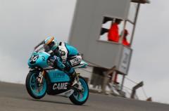 Joan Mir triunfa en la carrera del Mundial Junior Moto3 en Portimao, Canet 2º