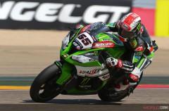 Jonathan Rea gana la primera carrera SBK en Motorland Aragón, Davies 2º y Sykes 3º