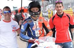 Javier Orellana triunfa en la cita de la European Junior Cup en Motorland Aragón