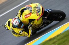 Álex Rins marca la pole Moto2 en Le Mans, Lowes 2º con el mismo registro